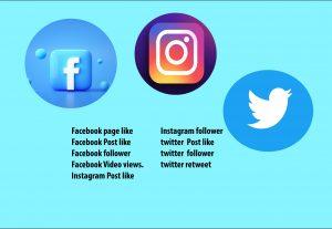 74931k Bagladeshi Facebook/Instagram/twitter  like/Follower Low rate.